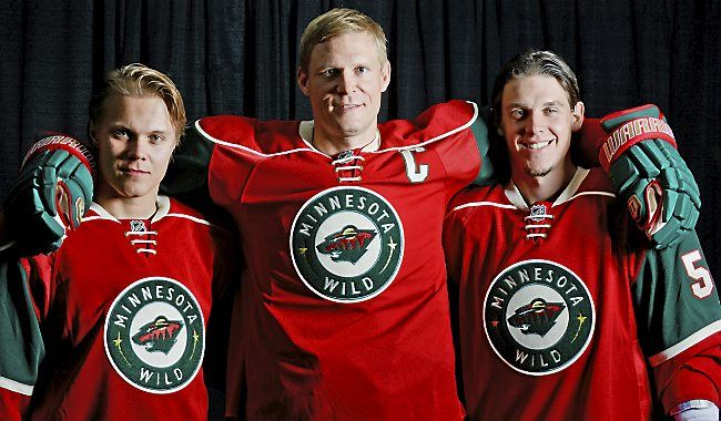 Erik Haula and Mikael Granlund say their fast rise in the Minnesota Wild organization has been helped greatly by the presence of a couple of familiar teammates