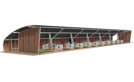 Golf Driving Range Structure Bespoke Design And