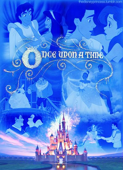 """Once upon a time...   """"Aww... this makes me all warm and fuzzy!  (Though where the heck is Aurora?)"""" Disney Fairytales"""