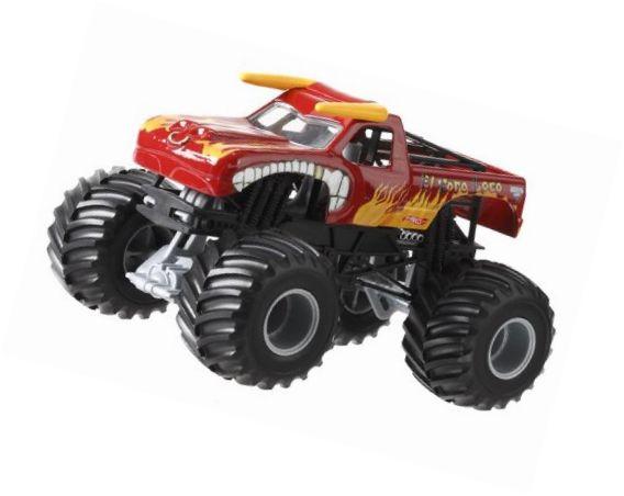 Hot Wheels Monster Jam El Toro Loco Die-Cast Vehicle 1:24 Scale