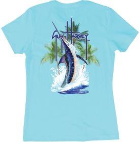 Guy Harvey Women's Palm Tree Splash T-Shirt | DICK'S Sporting Goods