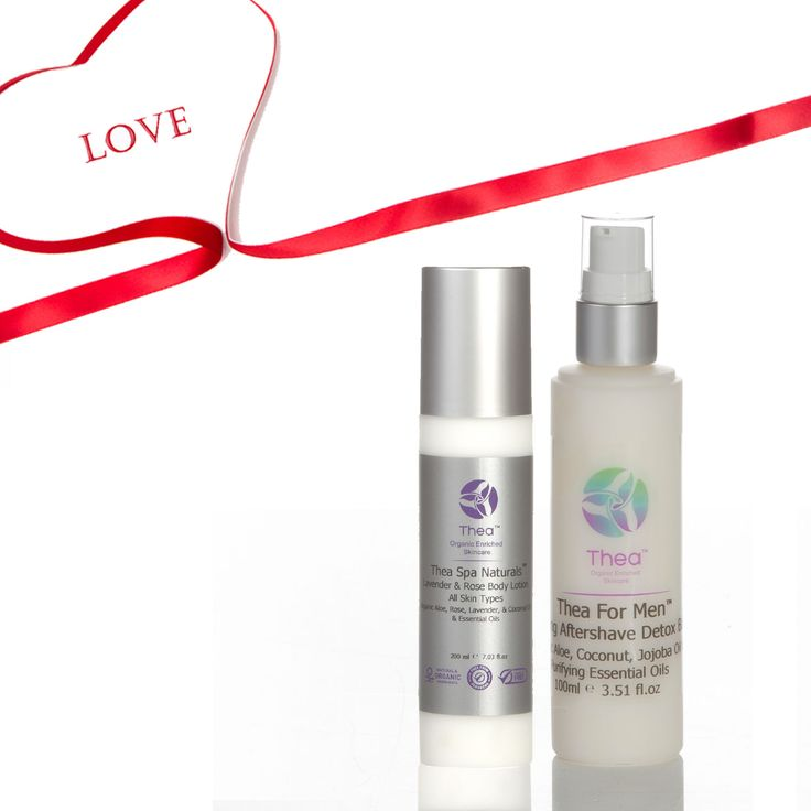 With love from Thea the perfect Valentine gift for him & for her http://www.theaskincare.com/