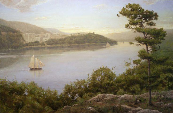 Thomas Kegler (b.1970)  —   Dusk over West Point - Ecclesiastes 2:24, 2010  (1000x657)