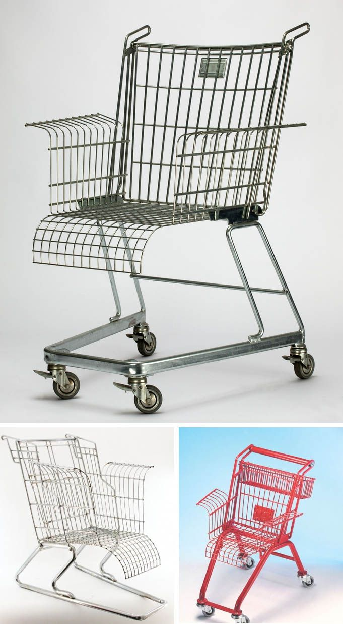 Click to enlarge One of our favorite pieces at MoMA's Century of the Child: Growing by Design, 1900–2000 exhibit was this small shopping cart chair. This child version is titled Short Rest Chair (1...