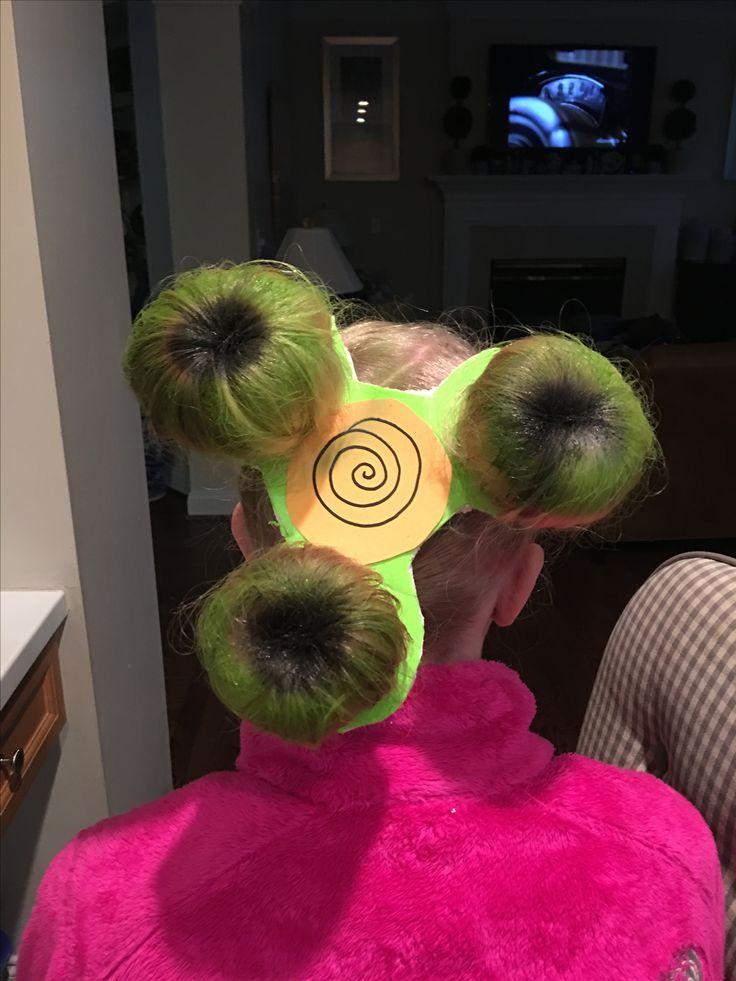 Fidget Spinner Hair for Crazy Hair Spirit Day at School