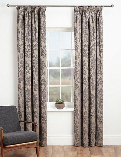 Elegant Damask Curtains