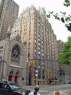 West Town New York | Park West, Art Deco architecture in New York City, Central Park West ...