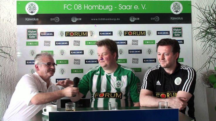 PK FC 08 #Homburg - 1. FC Saarbrücken II  #Saarland Pressekonferenz nach der ODDSET-Oberliga Südwest-Partie des 29. Spieltags am 28.04.2012 (Saison 2011/2012) zwischen unserem FC 08 #Homburg und dem 1. FC Saarbrücken II (Endstand 2:0) #Homburg #Saarland http://saar.city/?p=15034