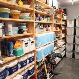 great storage shelves for stocking