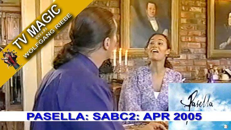 TV Magic Pasella Wolfgang Riebe Apr 2005