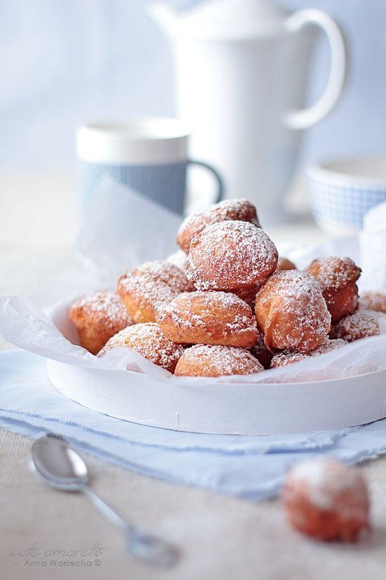 Cafe Amaretto: Castagnole di ricotta – włoskie pączki z ricotty