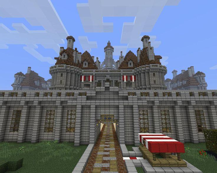 minecraft castle | Minecraft World! | Pinterest | Minecraft castle ...