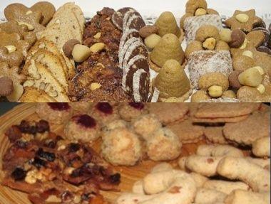 5x Pohankové cukroví