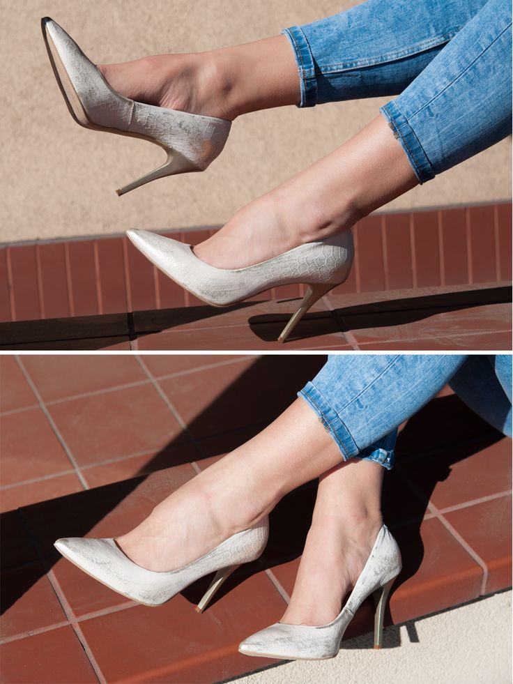 Czółenka skórzane na szpilce złote eleganckie 13-2270-E37 Cena/price: 244.00 PLN #eksbut #eksbutstyle #fashion #heels