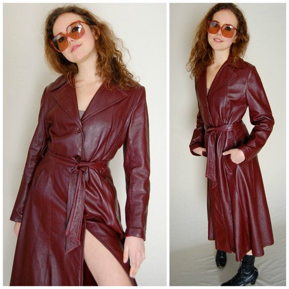 Faux Leather Shirt Womens