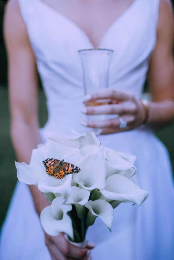 Glamorous French Wedding by Alisabeth Von Presley and Fete in France 56