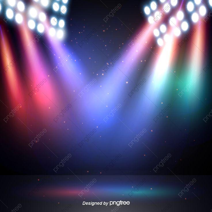 Efeitos De Iluminacao Criativa Leve Efeitos Criativos Iluminacao De Palco Imagem Png E Vetor Para Download Gratuito In 2021 Creative Lighting Green Background Video Background For Photography