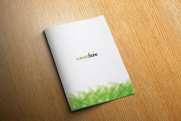 Brand & brochure Campofiore by Creative Point, via Behance