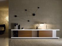 contemporary TV cabinet MORE by N.Delfinetti & M.Bernasconi  ESTEL