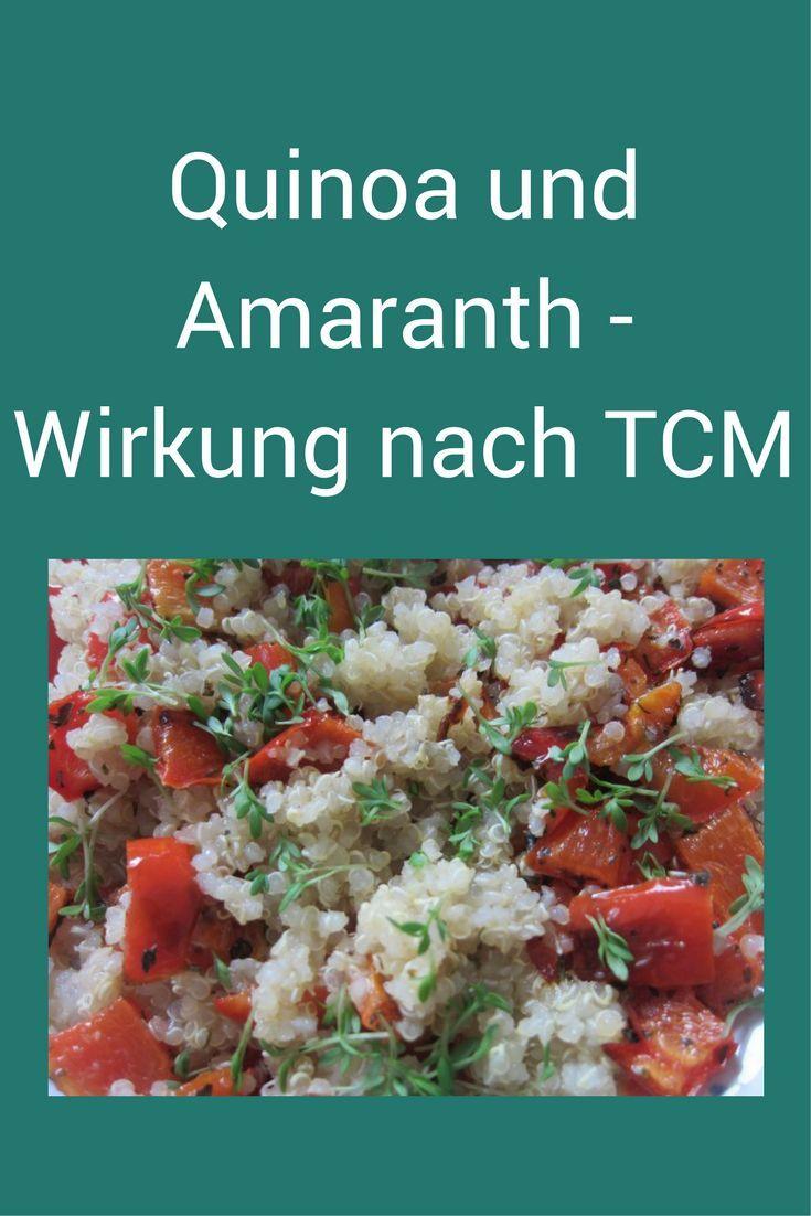 Quinoa, Amaranth - wie kocht man sie, welche Wirkung haben sie nach TCM auf den Körper? #Pseudogetreide #Quinoa #Amaranth