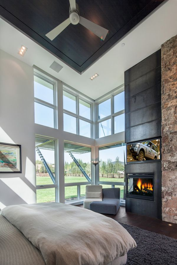 Attractive 55 Spectacular And Cozy Bedroom Fireplaces