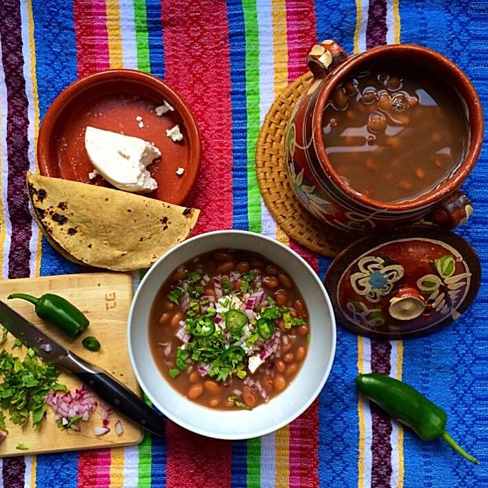 Beans! One of the main ingredients in a Mexican diet. We, Mexicans, have been eaten beans for centuries. Beans are as important as maize for us, we literally eat them almost every day in man...