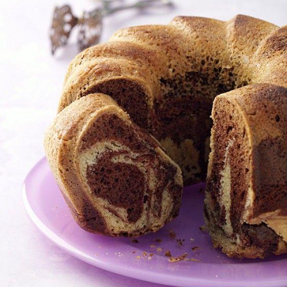 Marmorkuchen mit Rapsöl