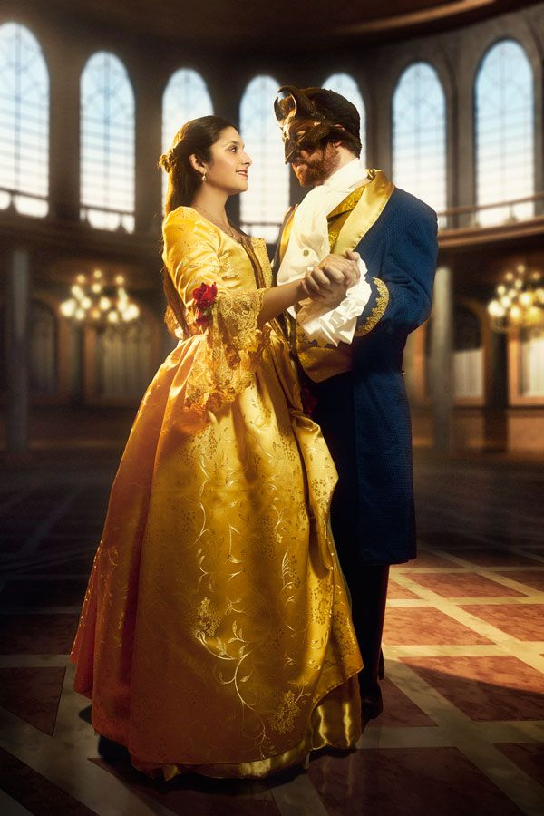 Belle by Golden Lasso Cosplay Disney Princess Beauty & the Beast Costume Gown Dress #timetravelcostumes @TimeTravelStyle