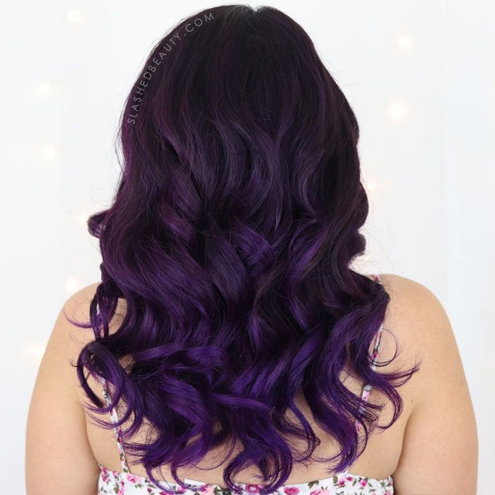 7f163e4c301341 See an Arctic Fox Purple Rain Before and After, plus my full review and  thoughts on Arctic Fox vs Overtone. | Slashed Beauty