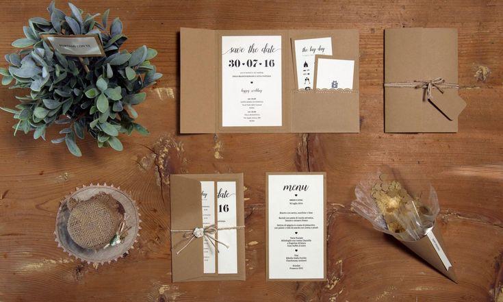 Partecipazione di nozze Pocket