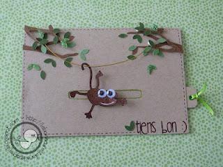 """La carte """"Petit singe"""" (carte animée) - Paperblog"""