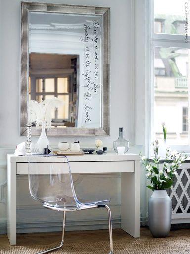 ber ideen zu schminktisch ikea auf pinterest. Black Bedroom Furniture Sets. Home Design Ideas