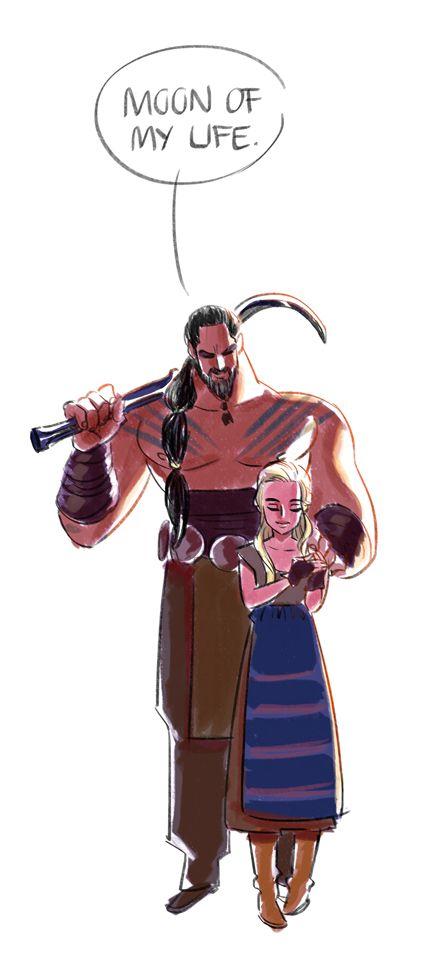 GoT - Khal Drogo & Daenerys Targaryen  ☼ ☆ ☾