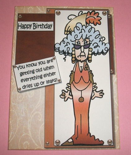 Birthday Cards Old Lady