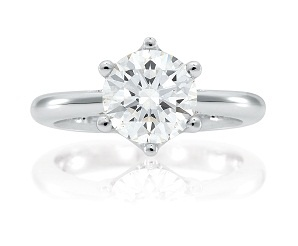 Saachi - Classic Engagement Ring - available in a variety of Diamond sizes