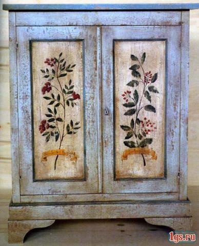 отделка вашей мебели и дверей под старину не спешите расстав... - Москва