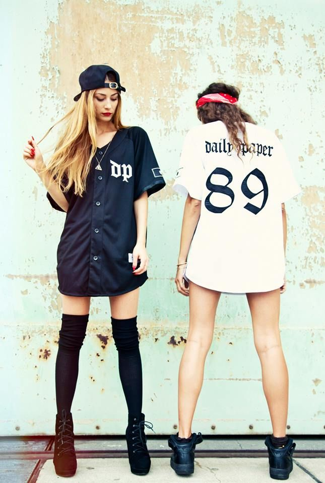 Using the classic baseball silhouette Daily Paper releases their take on sportswear. As part of their Fall/Winter 2013 collection Daily Paper made two mixed material Baseball jerseys. The jerseys come in Black and White and are made out of mesh cotton and contain satin embroidery.