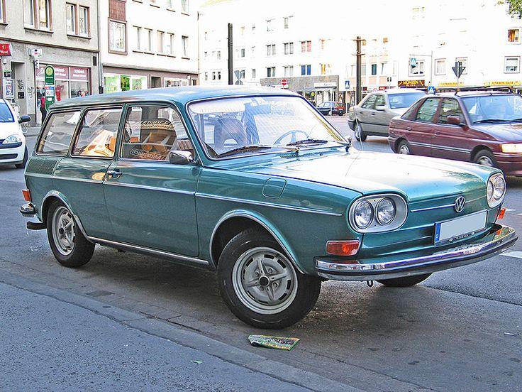 Functional dream car, VW 411 Wagon.