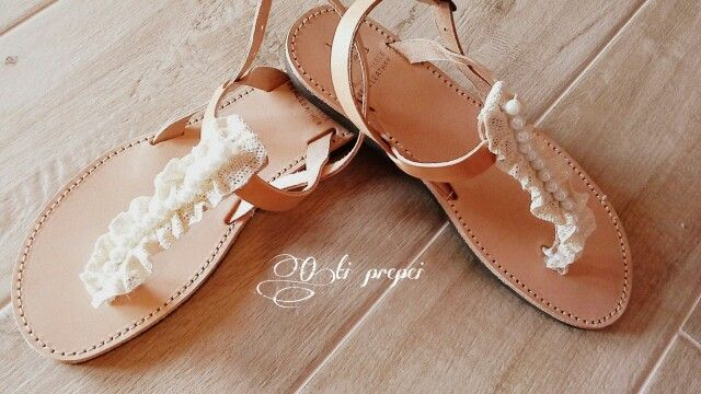 Pure leather sandals