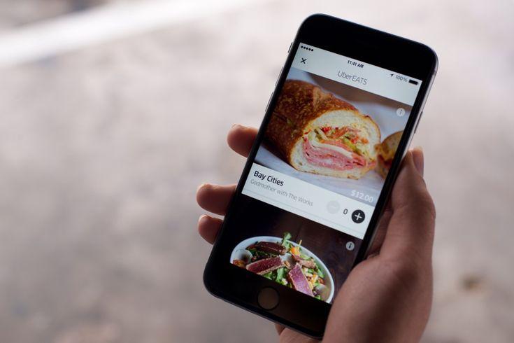 Uber EATS  - Uber komt met 'het perfecte' bezorg service voor je ontbijt, lunch of diner! - Manify.nl