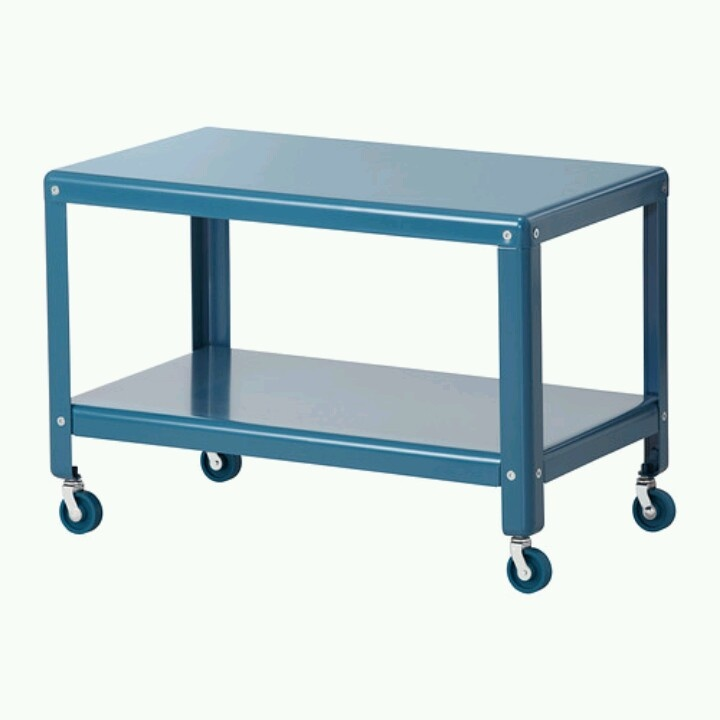 Ikea Coffee Table On Casters