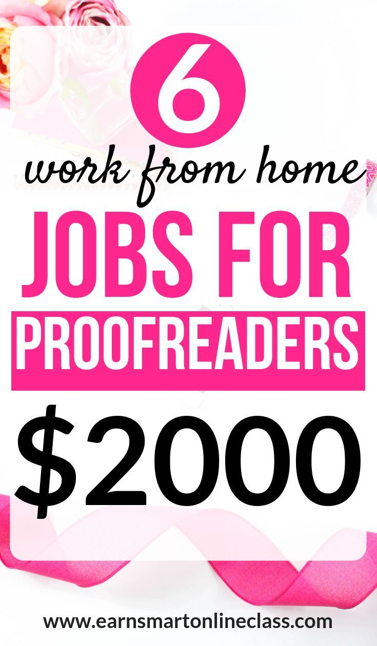 31 Online Proofreading Jobs for Beginners – side hustle