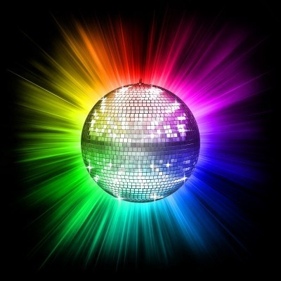 Colorful Disco Ball Niji Pinterest Disco Ball