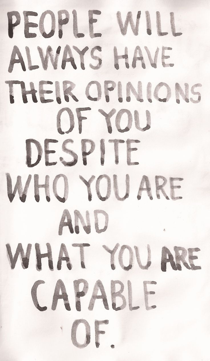 and those opinions don't necessarily make it so.