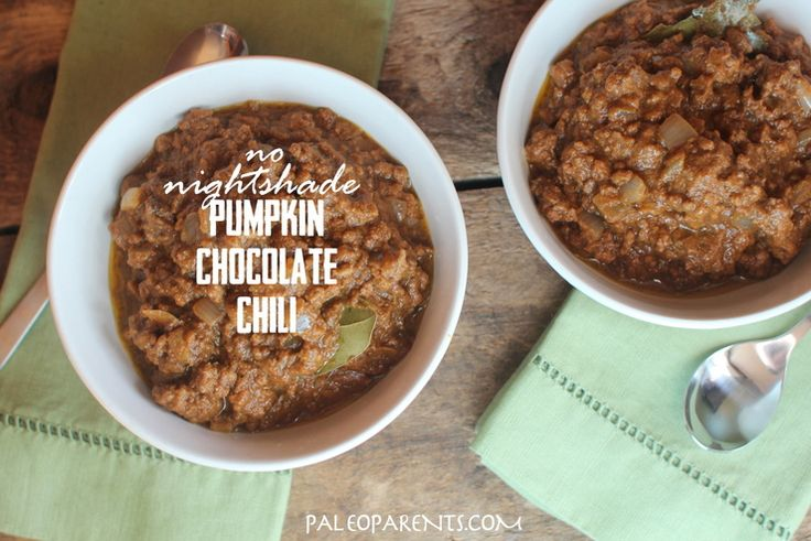 Tail Gating from Your Couch - a Paleo Party with Pumpkin Chocolate Chili, Cornbread, Apple Pie Bars