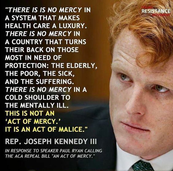 Another Kennedy with heart