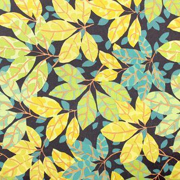 jungle leaf fabric