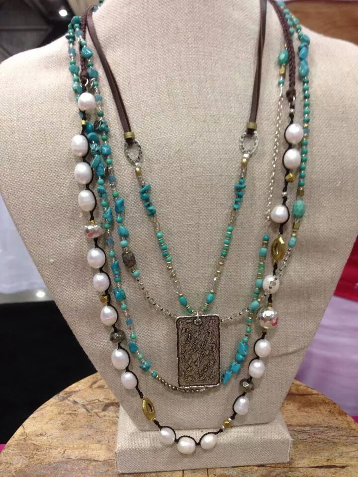 Silver, Turquoise & Pearls, Oh My!