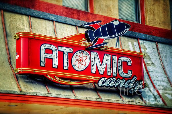Atomic Candy store in Denton TX USA. To view or purchase my prints, visit joan-carroll.artistwebsites.com iPhone covers can be purchased at joan-carroll.pixels.com THANKS!