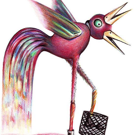 #drawing #art Chicken Basket
